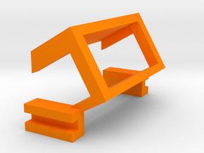 Nerf Demolisher Voltmeter Bracket in Orange Processed Versatile Plastic