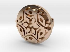 Flower Ring in 14k Rose Gold