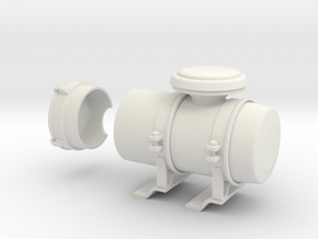 Air-filter-unit-a in White Natural Versatile Plastic