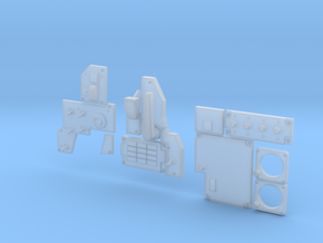 1.5 COCKPIT F18 (C) in Smooth Fine Detail Plastic