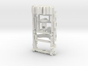 Graflex2.0 - Master Chassis - 7/7 Soundboard in White Premium Versatile Plastic