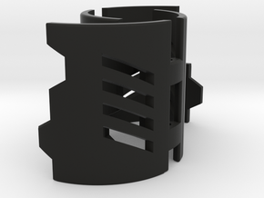 Graflex2.0 - Master Chassis - 4/7 Shell 3 in Black Premium Versatile Plastic