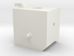 16h_18_suport_moteur2 in White Natural Versatile Plastic