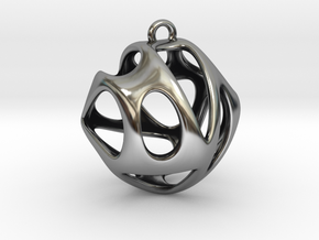 Hedra I in Antique Silver