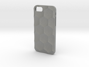 iPhone 7 & 8 case_Hexagon in Gray Professional Plastic