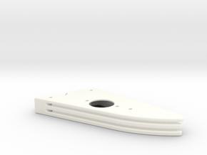 CFTBL Snackbar Mod v1 Top  in White Processed Versatile Plastic