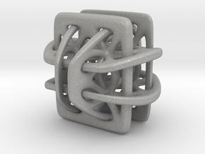 Borromean link nexus modified in Aluminum