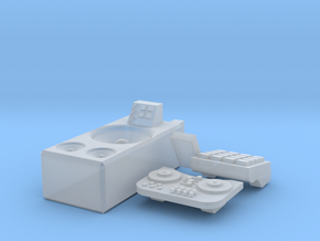DJ Tank Commander conversion parts in Smooth Fine Detail Plastic
