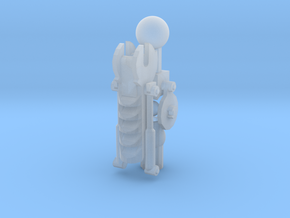 Articulated Mata Arm 2 in Smooth Fine Detail Plastic