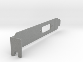 VisionRGB E1S Full-Size Bracket(v4) in Gray Professional Plastic
