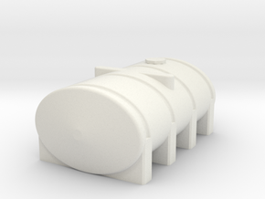 1/64 Scale 2350 Gallon Tank in White Natural Versatile Plastic