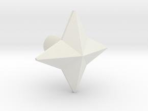 POTP Slash Shuriken  in White Natural Versatile Plastic