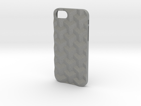 iPhone 7 & 8 case_Cube in Gray Professional Plastic