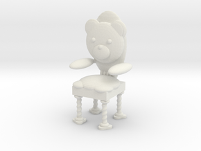 Teddy Chair in White Natural Versatile Plastic