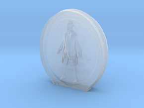 Cosmiton M George Washington - 30 mm in Smooth Fine Detail Plastic