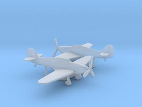 Hawker Hurricane Mk.IID in Smooth Fine Detail Plastic: 6mm