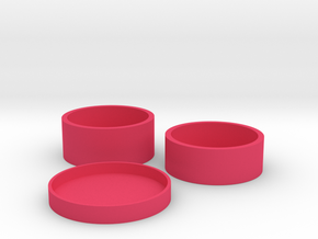 Okito Boston Set - Australia 20 Cent in Pink Processed Versatile Plastic