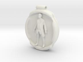 Cosmiton Fashion P - George Washington - 70 mm in White Natural Versatile Plastic