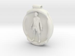 Cosmiton P George Washington - 60 mm in White Natural Versatile Plastic