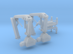 Hiab Hoist 1-87 HO Scale 2 Pack V2.0 in Smooth Fine Detail Plastic
