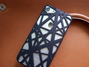 iPhone 7 & 8 Case_Intersection in Black Natural Versatile Plastic