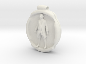 Cosmiton P George Washington - 45 mm in White Natural Versatile Plastic
