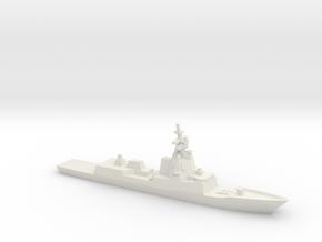 Hobart-class destroyer, 1/1800 in White Natural Versatile Plastic
