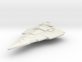 """First order Victory Cruiser 2.6"""" long in White Natural Versatile Plastic"""