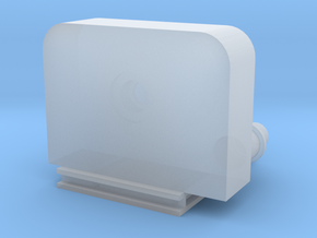 Trunnion winch 1:100 in Smooth Fine Detail Plastic