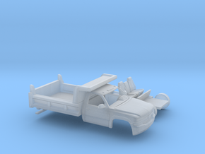 1/87 1999-02 Chevy Silverado RegCab Dump Kit in Smooth Fine Detail Plastic