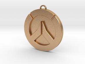 Overwatch Medallion  in Natural Bronze