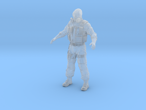 S.A.S. SAS mercenary / Stalker in Smooth Fine Detail Plastic