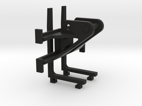 1:50 Miniatuur palletvork voor 8 ton midikranen  in Black Natural Versatile Plastic