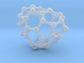 0669 Fullerene c44-41 c1 in Smooth Fine Detail Plastic
