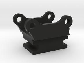 snelwissel 7mm 1:50 miniatuur in Black Natural Versatile Plastic