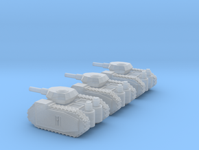 Free Republics Medium Tanks in Smooth Fine Detail Plastic