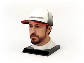 Fernando 1/4 Head Figure in Full Color Sandstone