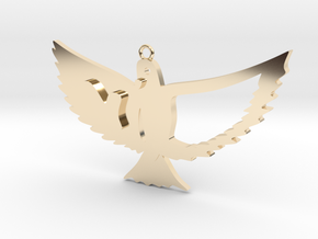 Bird in 14K Yellow Gold