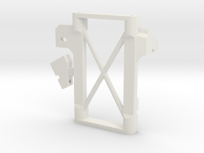 JaBird RC Stealth Servo Winch Mount (Rear Mount) in White Natural Versatile Plastic