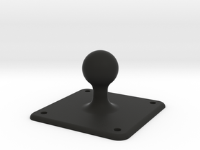 Ball Mount for magnetic phone holder in Black Natural Versatile Plastic