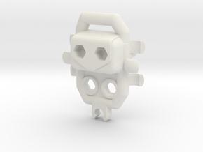 Venture C-clip Backpack for ModiBot Mo in White Natural Versatile Plastic