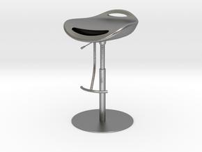 Fashion Bar Chair in Natural Silver