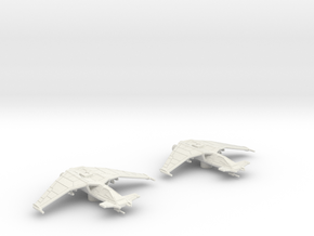 SA-43 Hammerhead Flight: 1/270 scale in White Natural Versatile Plastic