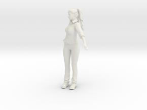 Printle V Femme 960 - 1/24 - wob in White Natural Versatile Plastic
