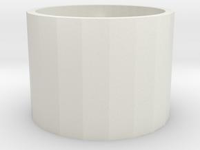 Geocache - Tricky Petling Lock in White Natural Versatile Plastic