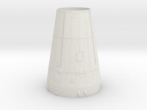 Apollo SLA/IU 1:70 For Tim in White Natural Versatile Plastic