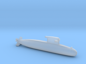 Walrus-class submarine, Full Hull, 1/1800 in Smooth Fine Detail Plastic