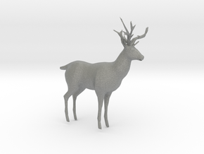 HO Scale Buck in Gray Professional Plastic