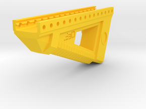 Alien Terror Angled Foregrip in Yellow Processed Versatile Plastic