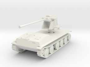 WT fur 55mm Flak  1:87 in White Natural Versatile Plastic